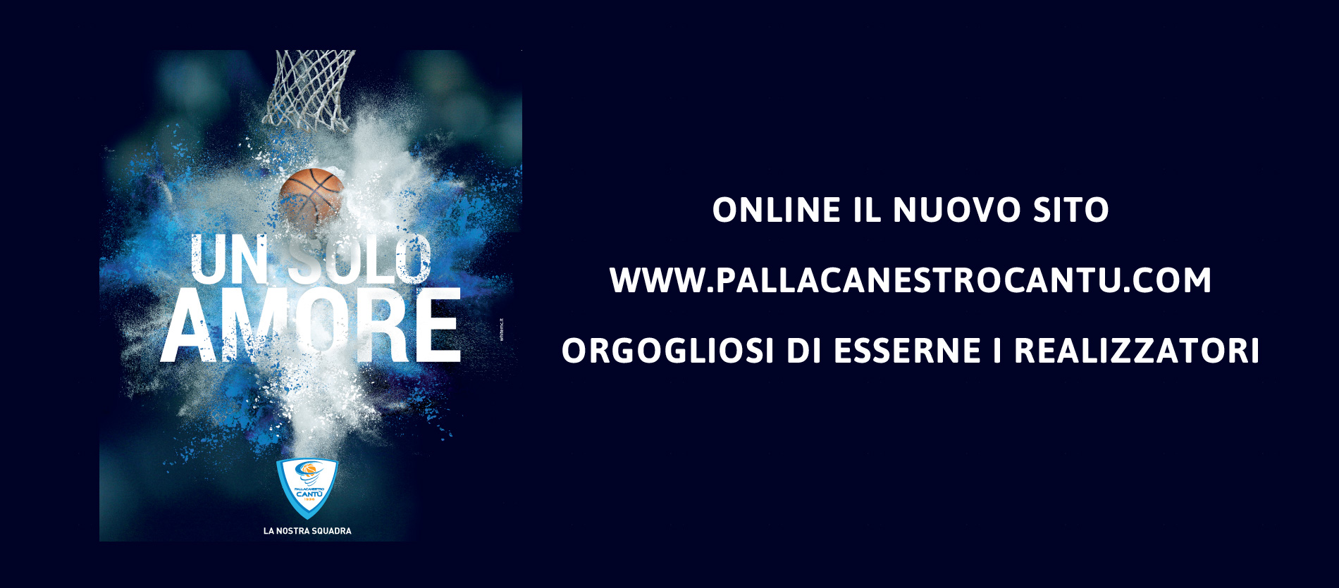<h1><strong>Official Sponsor Pallacanestro Cantu&#39;. </strong></h1>